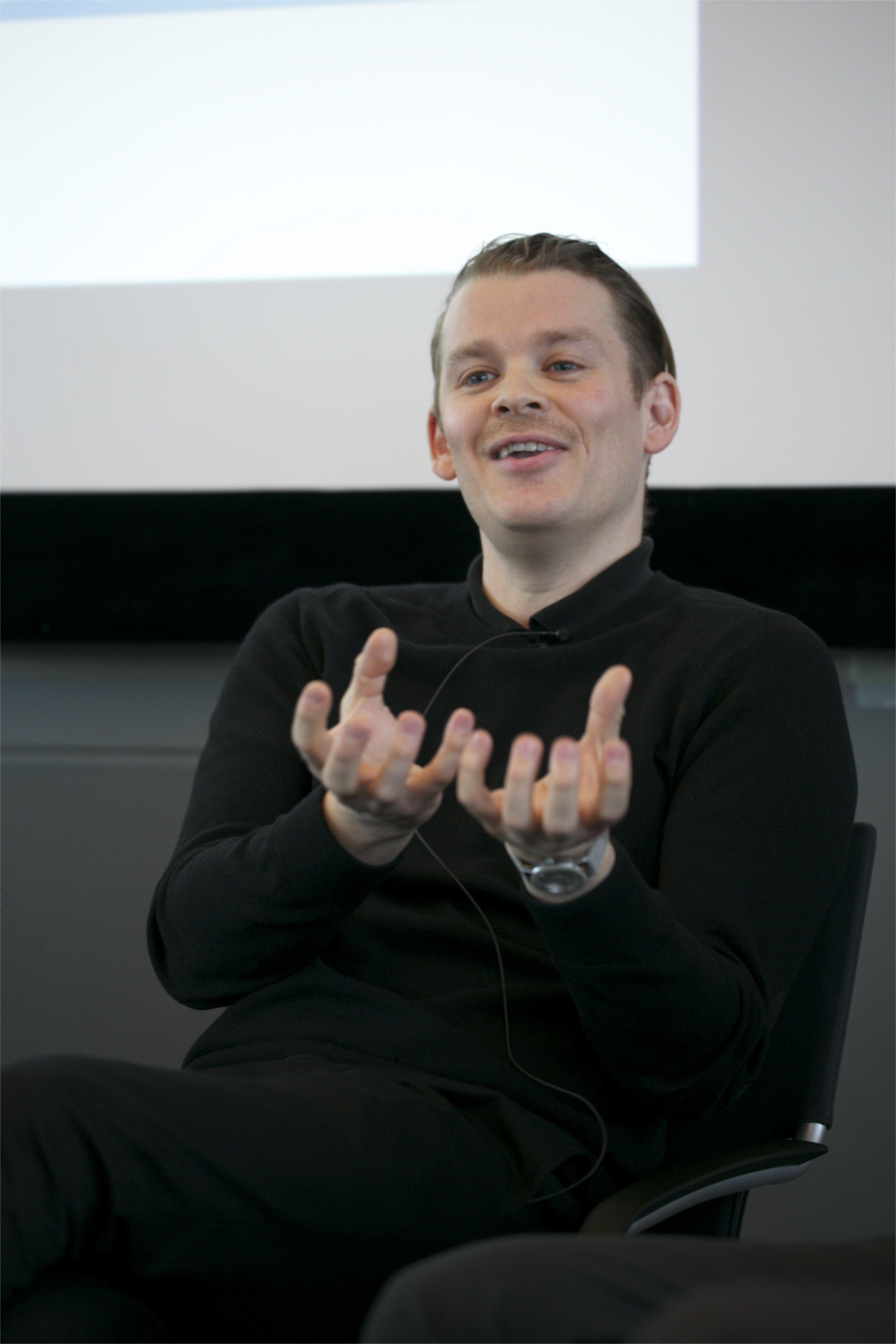 Marcus Bösch auf dem Crossmedia-Tag des netzwerk medien-trainer