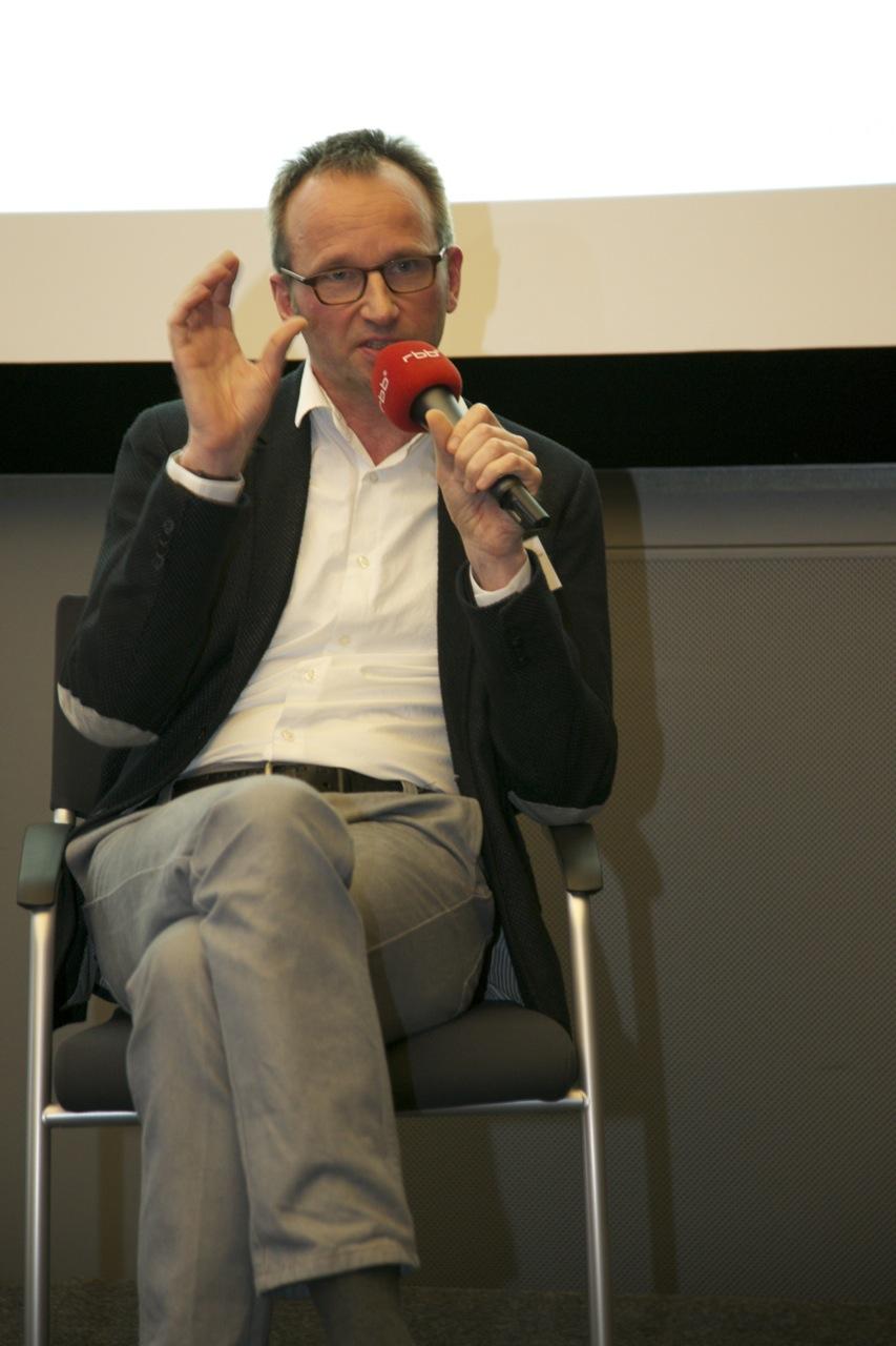 Dr. Ralf Bremer auf dem Crossmedia-Tag des netzwerk medien-trainer