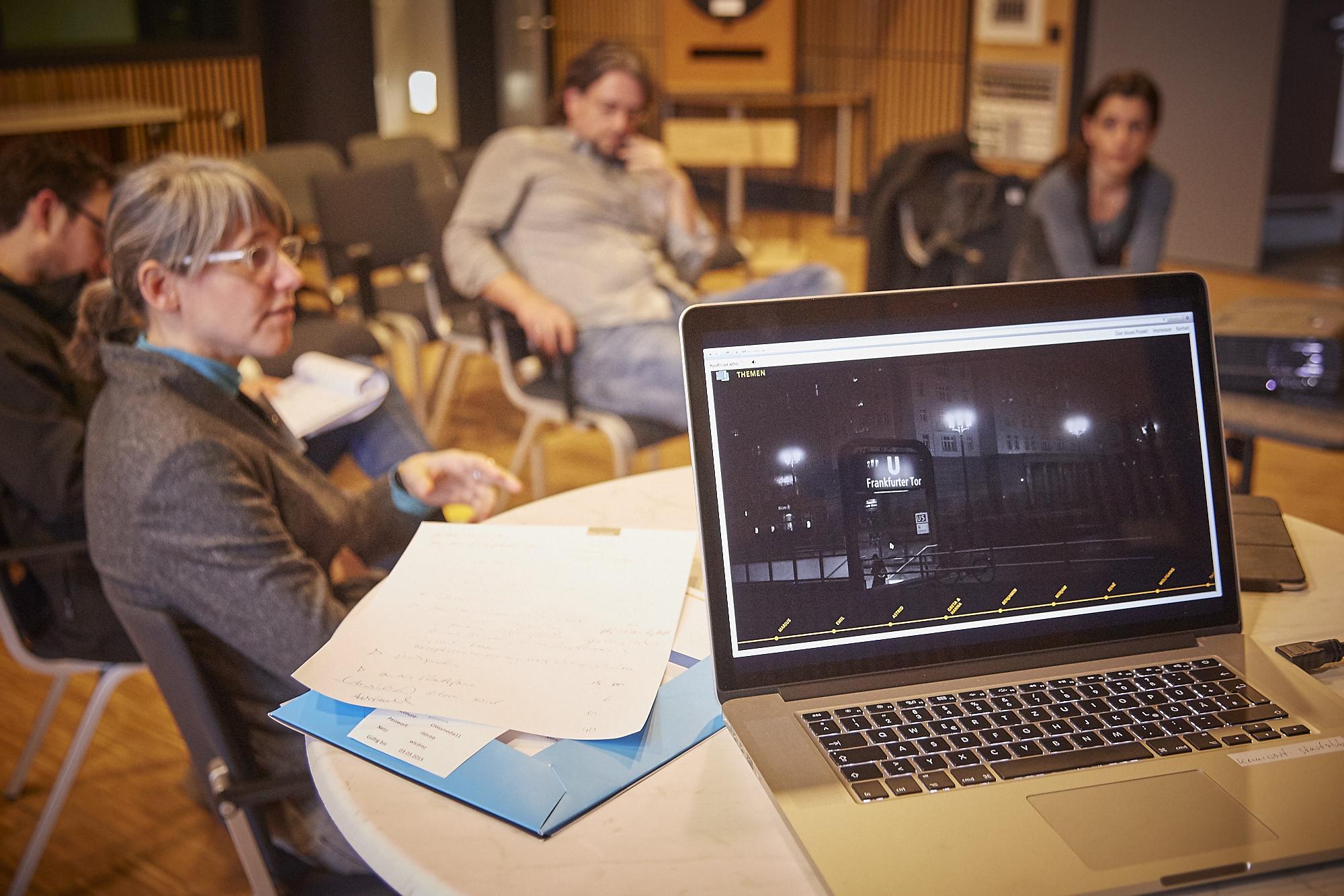Impression vom Crossmedia-Tag des netzwerk medien-trainer