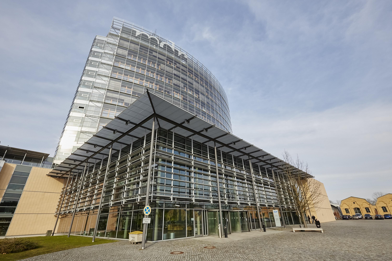 Gebäude des MDR in Leipzig